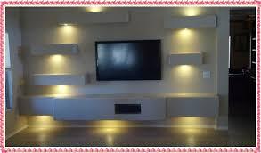 Drywall TV Unit Ideas 2016 Custom Wall Designs