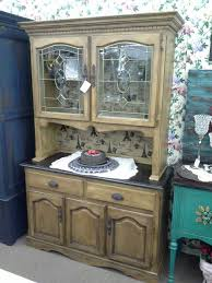 sold this oak china cabinet had door cabinet and 2