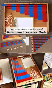 Learning About Numbers Addition And Subtraction With DIY Montessori Number Rods