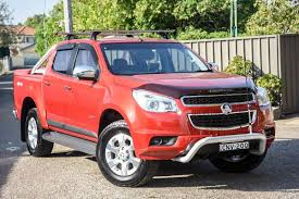 2013 Holden Colorado LTZ Crew CAB RG MY13 (Red) For Sale In Chullora ...