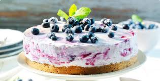 blaubeer mascarpone torte