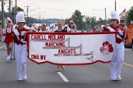 Milton Pumpkin Festival Pageant by Cmhs Drum Major Helps Lead Band Through Hometown News Herald