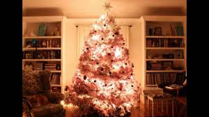 Sears Artificial Christmas Trees Unlit by Pink Christmas Trees Youtube