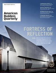 100 Bart Voorsanger American Builders Quarterly 48 By Guerrero Issuu