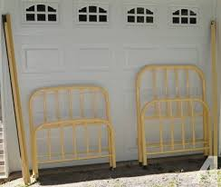 2 Metal Antique Twin Bed Frames for Sale in Banner Elk North