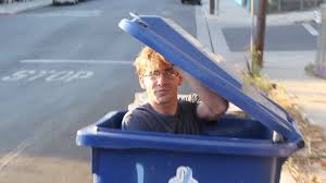 Getting Dumped In A Garbage Truck - YouTube