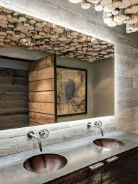Rustic Cabin Bathroom Lights by Best 25 Lodge Bathroom Ideas On Pinterest Hunting Cabin Deer