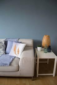 wohnzimmer makeover mit wandfarbe