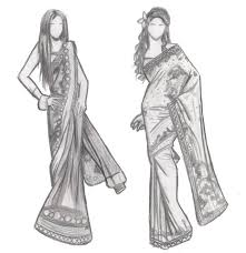 Fashion Designers Drawings Of Indian Dresses Sketchesiburntmytoast