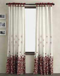Kohls Double Curtain Rods by Black And White Curtains Blackout Black And White Curtains