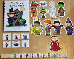 Preschool Halloween Books by Adapted Books Wh Questions File Folder Games At File Folder