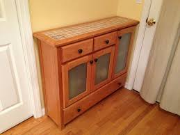 Locked Liquor Cabinet Furniture by Hand Crafted Liquor Cabinet And Buffet Table By Scavone U0027s Workshop