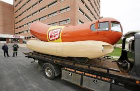 Vintage Wienermobile Made In Madison Donated To Wisconsin Historical ...