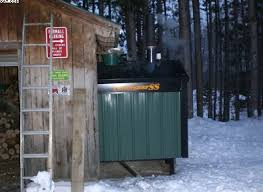 outdoor wood boiler shed photos