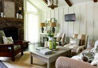Charming Cottage Living Room For Home Country Decorating Throughout Small