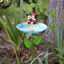 Mickey And Minnie Bath Decor by Disney Licensed Garden Decor Mickey Mouse Decor Garden And