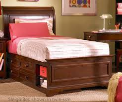 Full Sleigh Bed by Lea Furniture Covington Bedroom Collections With Full Size Sleigh
