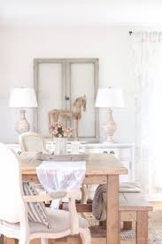 A Beautiful Farmhouse Dining Room With French Country Twist