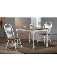 Sima Leg Dining Table Color White