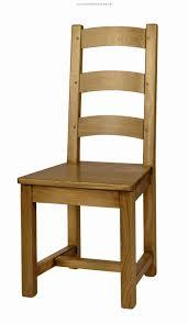 chaise en ch ne massif chaise de cagne en bois avec assise bois