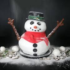 pack produits gâteau bonhomme de neige en pâte à sucre cerf dellier