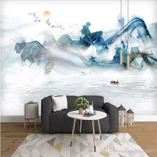 großhandel arkadi 3d wandbild tuschmalerei landschaft wohnzimmer 5d tv hintergrund tapete schlafzimmer sofa vliestapete andyhome88 21 15 auf
