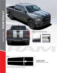 100 Ram Truck Decals Dodge Hood Racing Stripes Graphic RAM RALLY 20192020