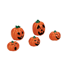 Grims Greenhouse Pumpkin Patch by Lemax Spooky Town Halloween Village Collection