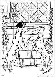 Pongo And Perdita In Love Coloring Page Do You Like 101 Dalmatians Pages Can Print Out This Pagev Or