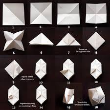 Paper Origami Cubes 1
