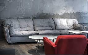 baxter navone canapé cuir mobilier contemporain lyon