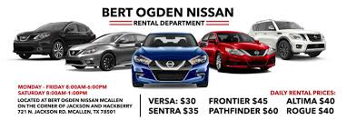 Welcome To Bert Ogden Nissan In McAllen | Serving Pharr Nissan Shoppers