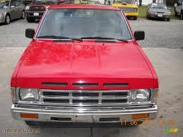 1991 Nissan Hardbody Truck Regular Cab In Aztec Red Photo #2 ...