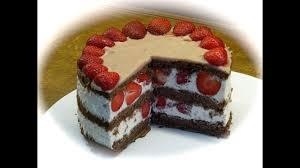erdbeer sahne torte 18 cm ø