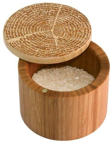 Totally Bamboo Tree of Life Salt/Storage Box