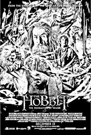 Hobbit Coloring Pages 78 Images About Colouring Desolation Download