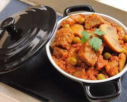 cuisiner du veau recette sauté de veau aux olives vertes