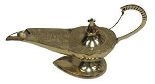 amazon com india genie ornate aladdin l incense burner home