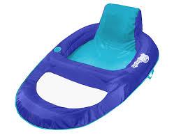 Kelsyus Original Canopy Chair With Ottoman by Amazon Com Swimways Spring Float Recliner Xl Toys U0026 Games