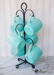 Vintage Hazel Atlas Turquoise Mugs From Kitchenmagpies Personal Collection Click The Pic To