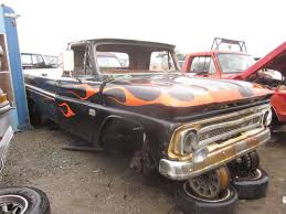 Junkyard Find: 1966 Chevrolet C10 Pickup - The Truth About Cars Pin By Ruffin Redwine On 65 Chevy Trucks Pinterest Cars 1966 C 10 Pickup 50k Miles Chevrolet C60 Dump Truck Item H1454 Sold April 1 G Truck Id 26435 C10 Doubleedged Sword Custom Truckin Magazine Stepside If You Want Success Try Starting With The 1964 Bed Inspirational Step Side Walk Bagged Air Ride Patina Trucks The Page For Sale Orange Twist Hot Rod Network