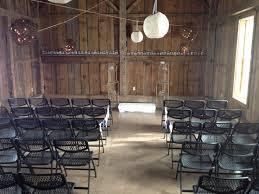 Rustic Indoor Wedding Ceremony At The Amelita Mirolo Barn Amelitamirolobarn