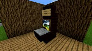 minecraft pe kitchen 13 loft bed with stairs and storage framed