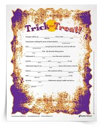 Halloween Mad Libs Esl by Collection Halloween Adjectives Pictures Halloween Ideas