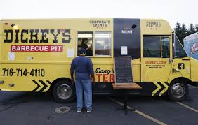 Dickey's Food Truck Drives Customers To Barbecue Pit – The Buffalo News El Toro Rojo Truck New York Food Trucks Roaming Hunger 41 Best Vti Custom Fabricated Images On Pinterest This Week In The Best In Nyc City Nearsay Mhattan Van Leeuwen Ice Cream Sign Central Wraps Fork The Road Food Alaide Truck Trucks Taco Mostly Support Ipections But Seek Regulatory Family Fun And At Grove Amphitheatre Invade Kenosha Theyre Not Just Pushing Ice Roadblock Drink News Chicago Reader