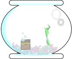 Empty Cartoon Bowl Clipart Fish
