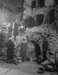 Rubble Women Trummerfrau Literally Translated As Ruins Woman Or Is The German Language Name For Who In Aftermath Of World War