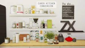 Mio Sims Curio Kitchen Conversion