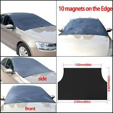 Magnetic Windshield Cover FOR SUV Car Truck RVS Ice Snow Sun Shade ... Upgrated Windshield Snow Cover Mirror Magnetic Automobile Sun Car Sunshades Universal Shade Protector Front Weathertech Techshade Full Vehicle Kit Sunshade Jumbo Xl 70 X 35 Inches Window 100 A1 Shades A135 For Suv Truck Minivan Car Truck Nerdy Eyes Uv Amazoncom 2 Dogs Auto Pet 1x90cm Nylon Folding Visor Block Gray Foil Reflective Chinese Diesel Three Wheel With China Solar Sale Online Brands Prices