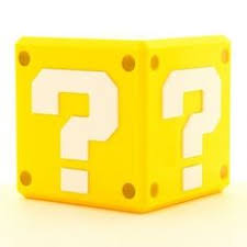 super mario bros question block money box bank super mario bros